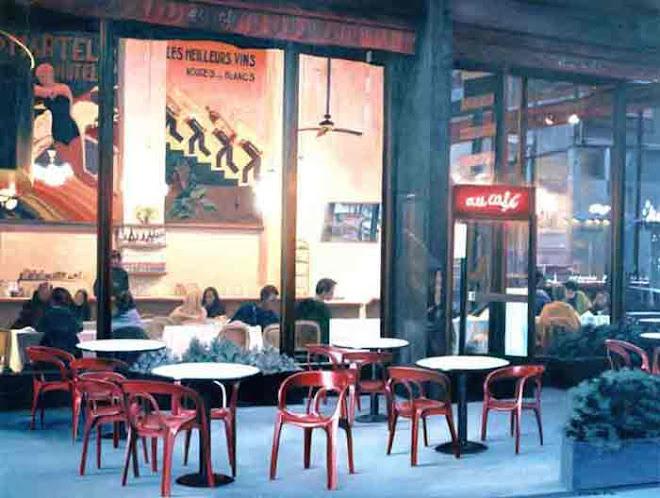 au cafe. nueva york