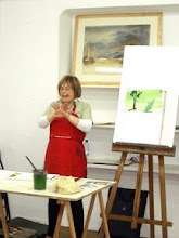 Blanca Basabe, taller de acuarela. Mayo 2008