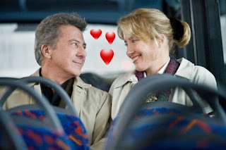Dustin Hoffman and Emma Thompson in love!