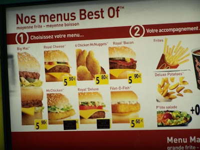 Best Mcdonalds Food For Clean Bulk