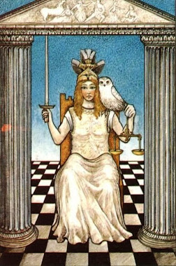 deusa Themis (Justiça)...