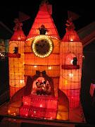 Taiwan Lantern Festival (mickey mouse castle)