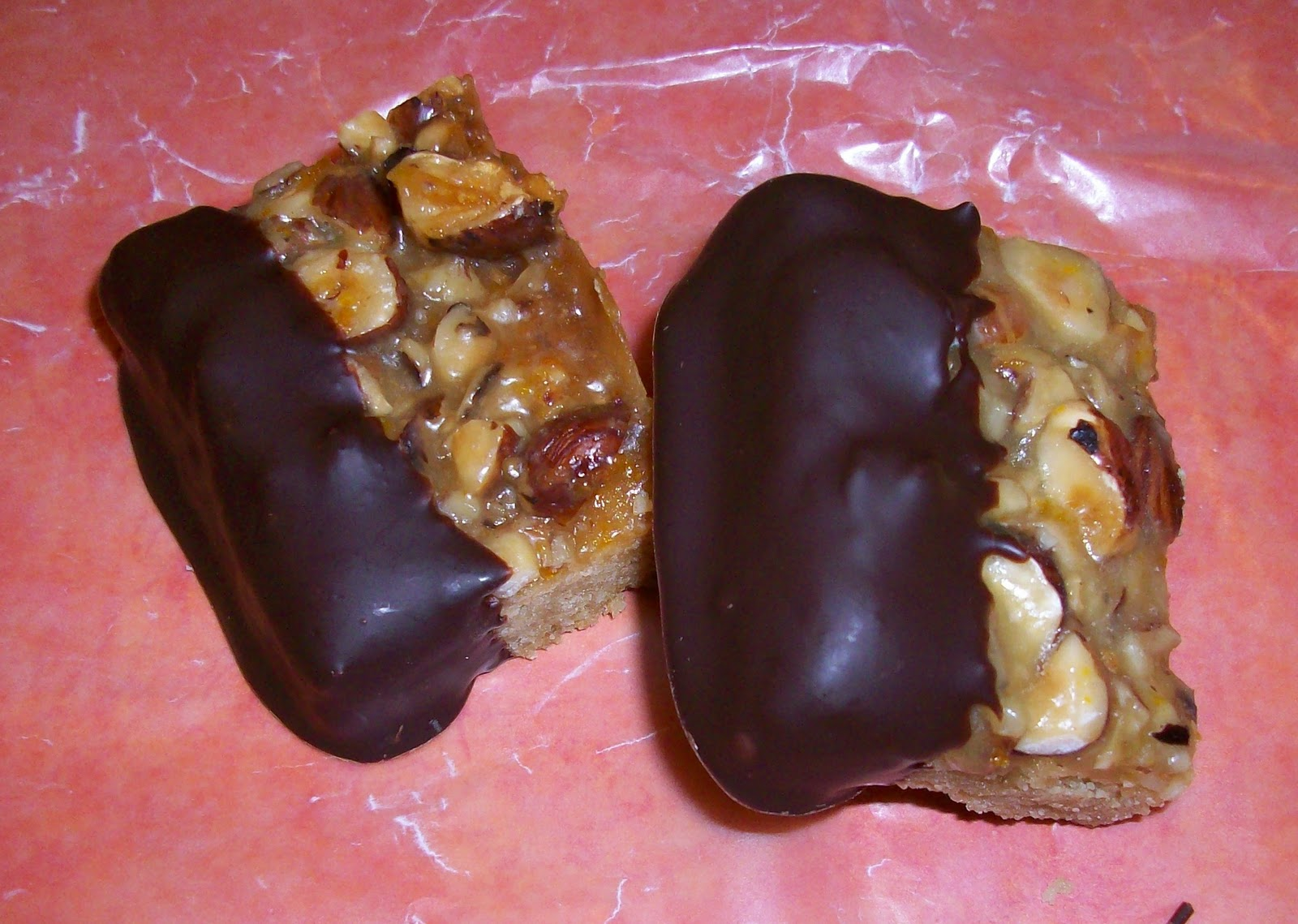 ... hazelnut these are chocolate dipped chocolate dipped hazelnut double