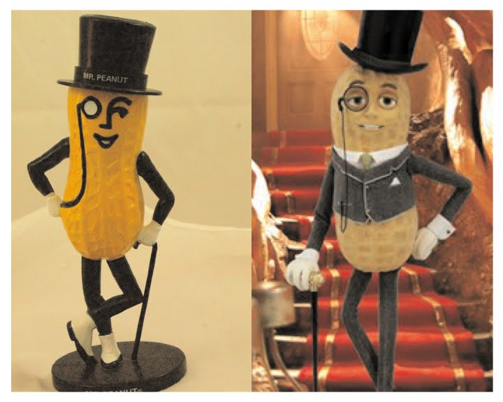 ad broad: Mr. Peanut breaks 94-year silence today on planters snack mix, planters peanuts candies, peanuts fruit snacks, planters mixed nuts, planters corn snacks,