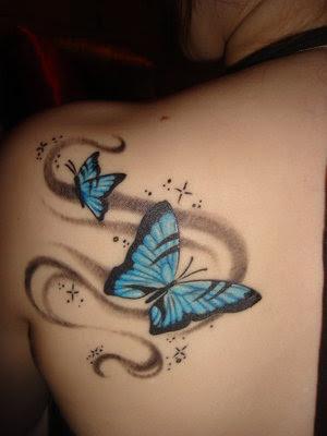 Retail Temporary Tattoos > F02004 Blue's Clues Temporary blues tattoo