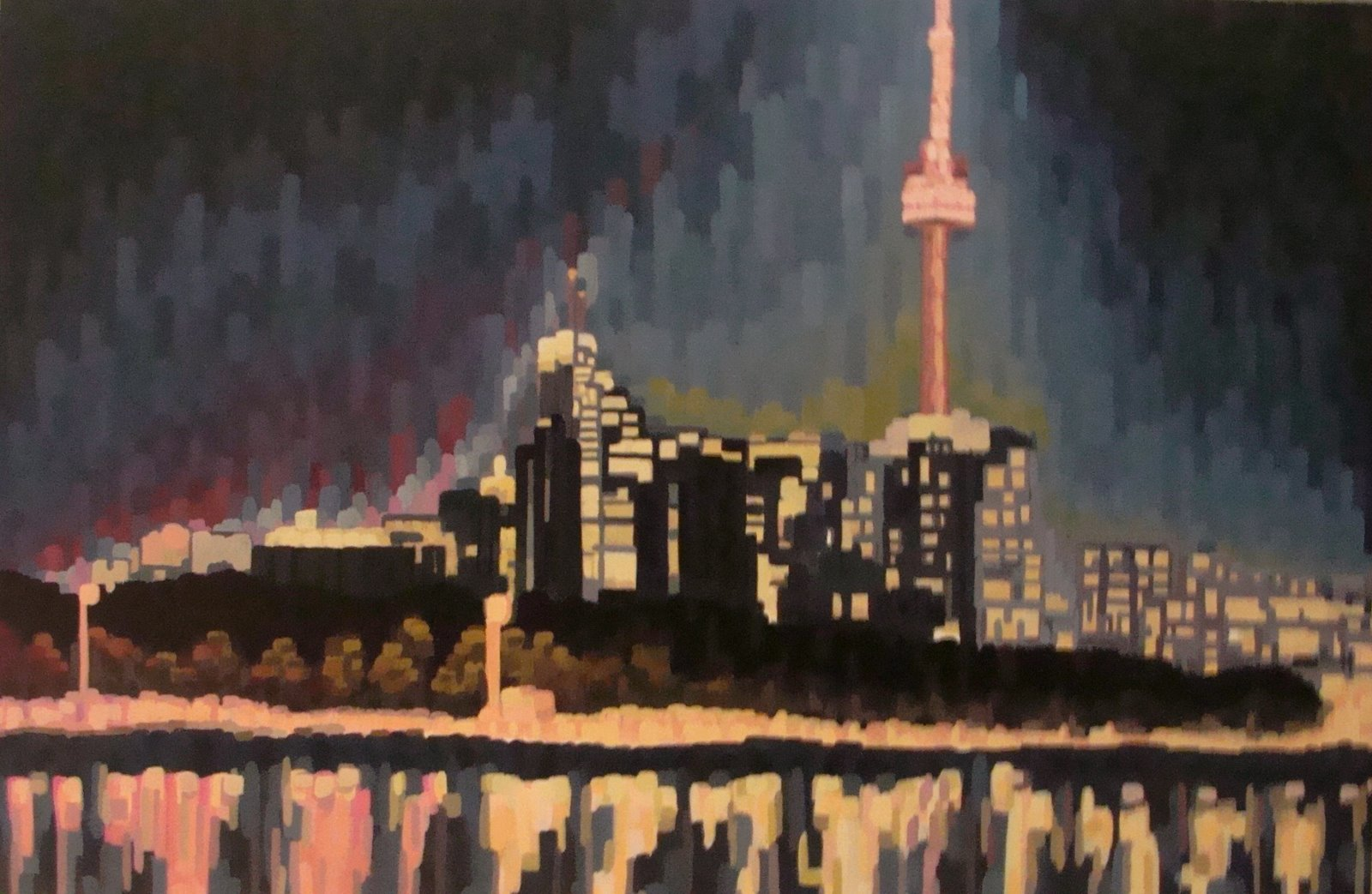 City Nightscape | 30' x 36'