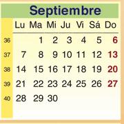 Calendario Septiembre 2009