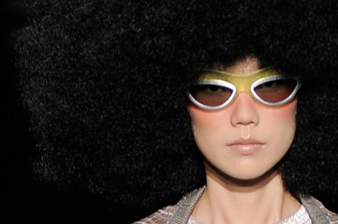 Louis Vuitton Ella sunglasses in green