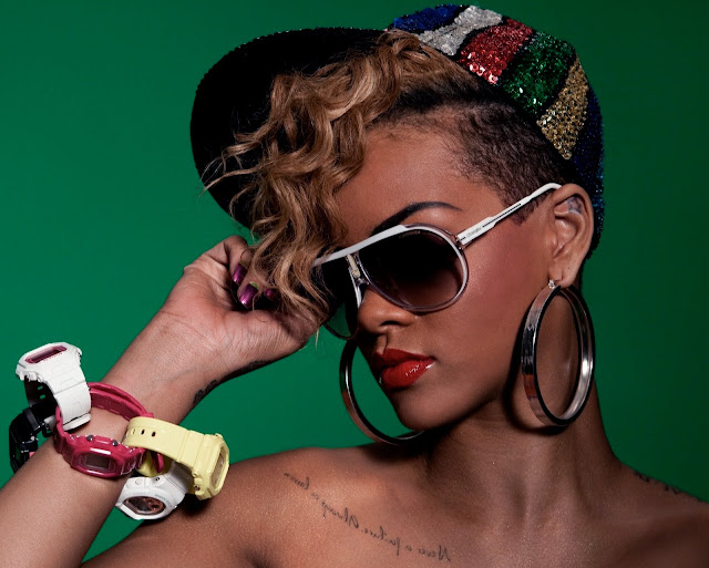 Rihanna wears Carrera Endurance sunglasses in Rude Boy