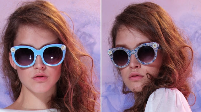 Sretsis Bubble Blue (left) and Floral Blue (right) Asphixy sunglasses 2010