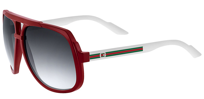 Gucci 2010 sunglasses: GG1162 and GG3108 for him and her