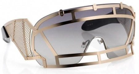 Lady Gaga sunglasses by Kokon To Zai (KTZ) by Linda Farrow Sunglasses