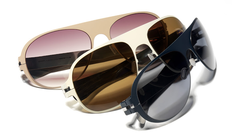 Mykita Flash sunglasses 2010: Rodney and Winston
