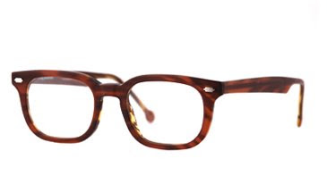 la Eyeworks Reed in coffee-tortoise