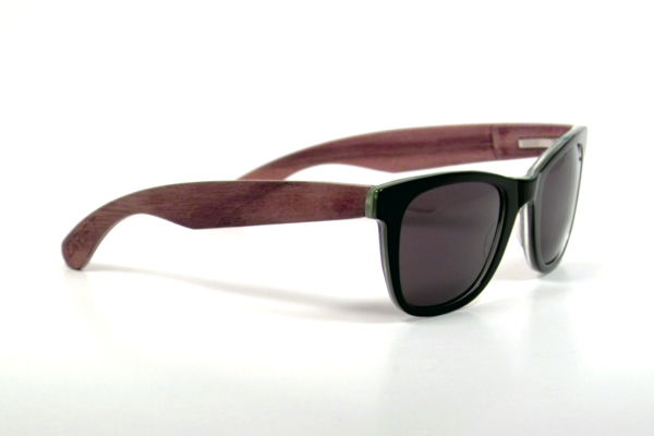 Drift glasses: Feel good and look good in wood - walnut