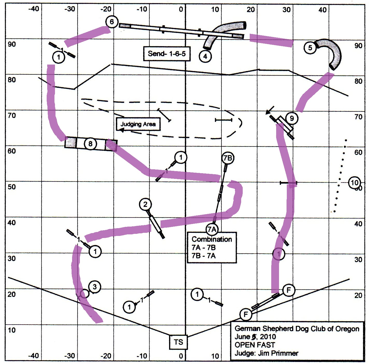 Danes Can Q German Shepherd Dog Club Of Oregon AKC Agility Trial - Us open course map