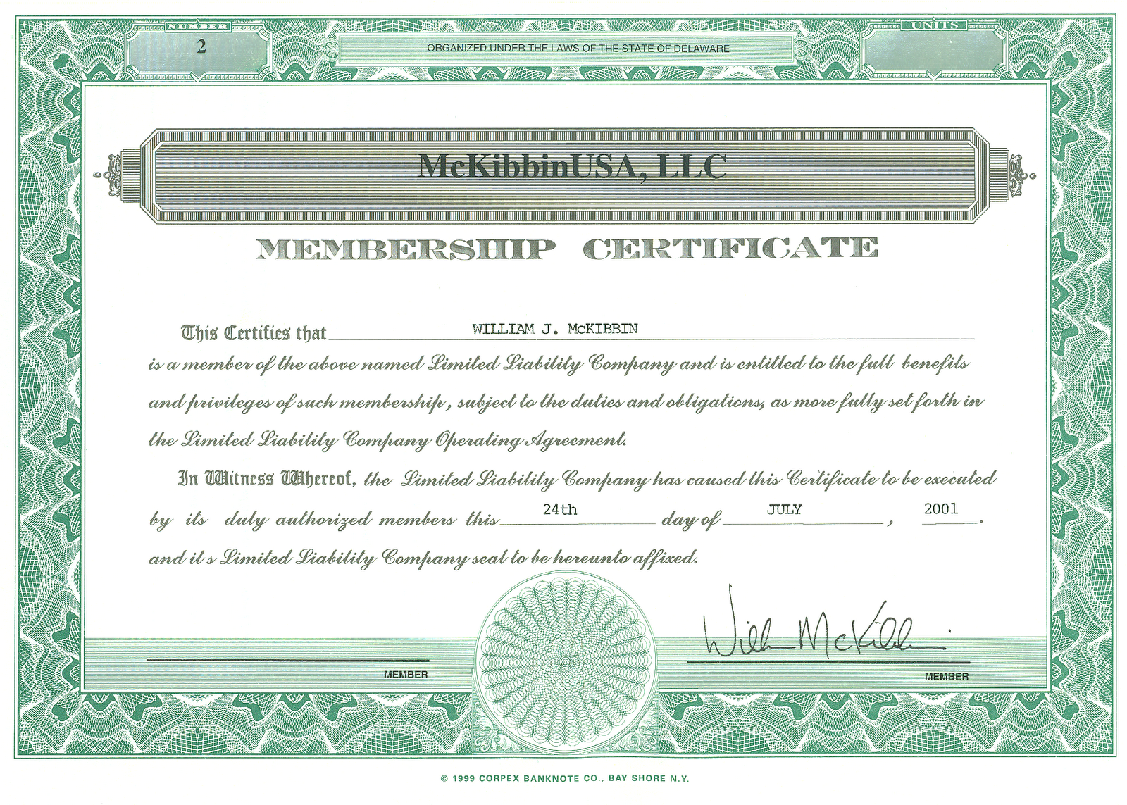 llc membership certificate template the vantage point the best investment ever