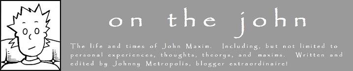 on the john