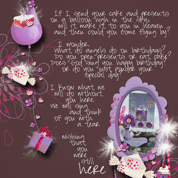 First Birthday in Heaven Quotes http://agrievingmommy.blogspot.com/2010/04/happy-birthday-in-heaven-to-bree-elle.html
