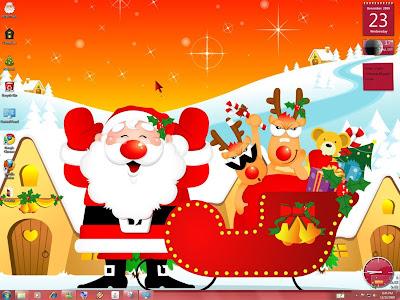 christmas windows 7
