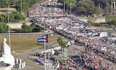 تظاهرات عظیم کارگران در کوبا/ هاوانا 2009