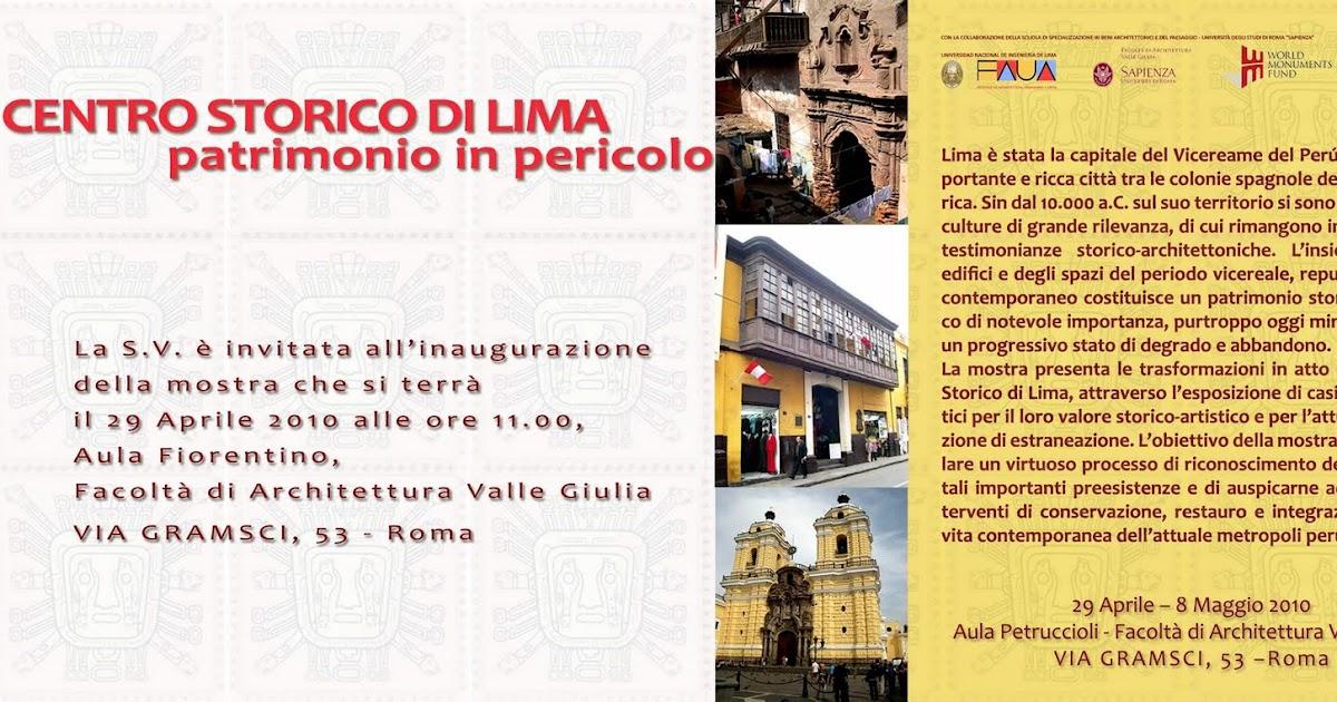 Bit cora arquitectura peruana centro storico di lima for Elenco studi di architettura roma