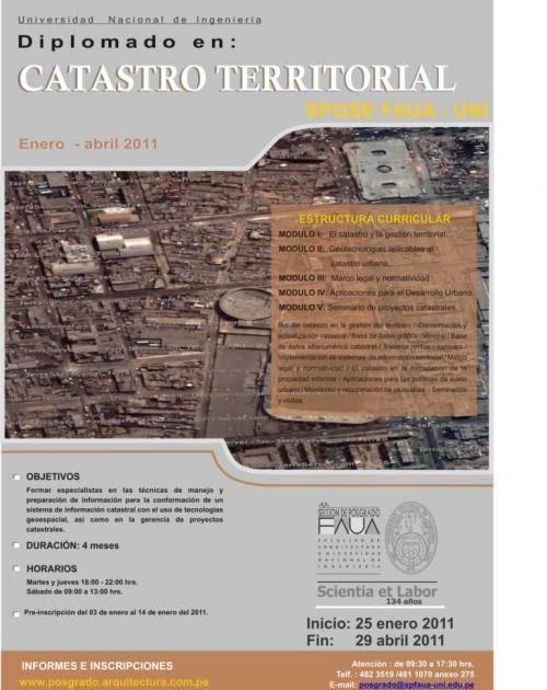 Bit cora arquitectura peruana diplomados y cursos libres for Cursos facultad de arquitectura