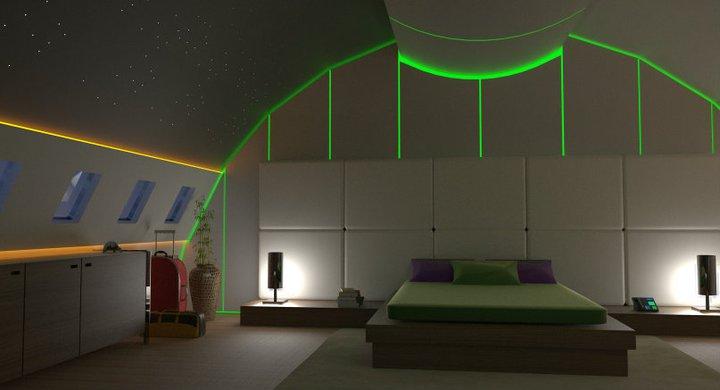 3d architecture and rendering design interieur d'un 787