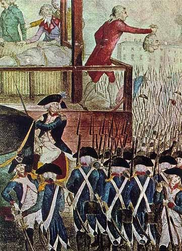 French Revolution Robespierre Execution
