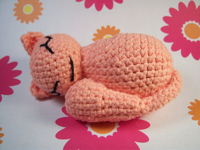 Knotty's Amigurumi: Sleepy Kitty Amigurumi Pattern