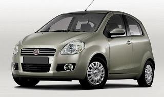 Novo uno da Fiat