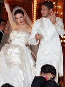Casamento de Alexandre Pato e Sthefany Brito