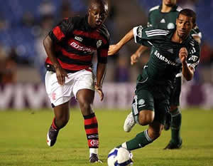 Palmeiras e Flamengo pelo campeonato brasileiro