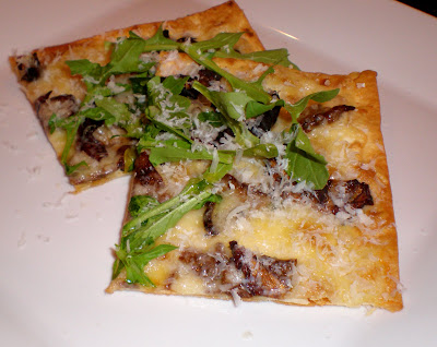 Porcini Pizza with Truffle Oil