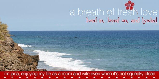 a breath of fresh love