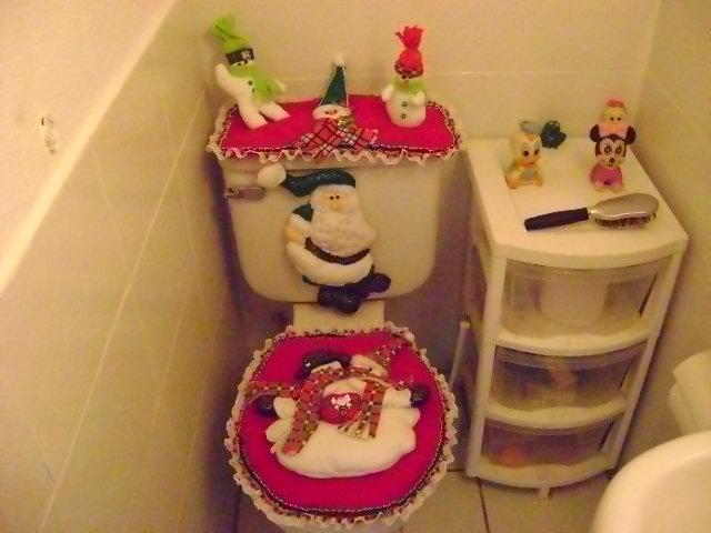 Manos de angel juego de ba o adornos para la puerta for Adornos navidenos para el bano