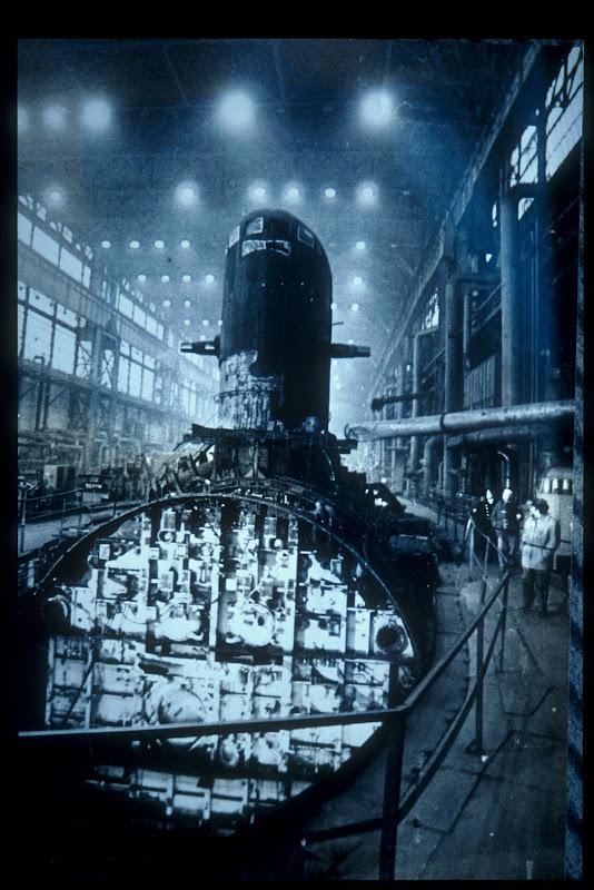 Scrapped submarine