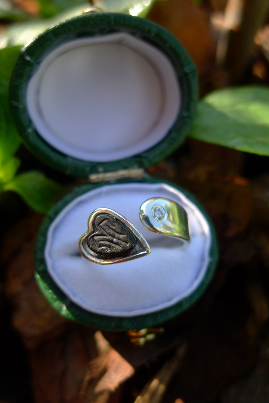 Your Destiny Is Stone Golden An Engagement Ring And Then The Engagement Story