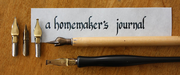 A Homemaker&#39;s Journal