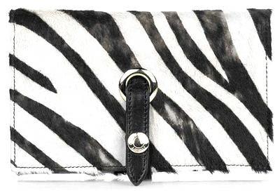 jimmy choo zebra print wallet