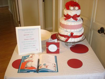 pirates princesses thing 1 thing 2 twins baby shower