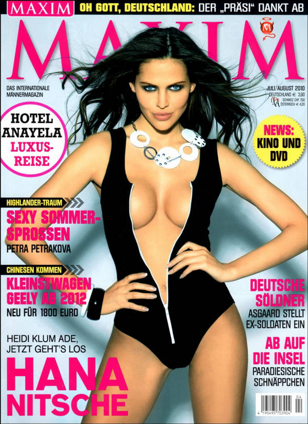 Maxim Germany | Label: fashion