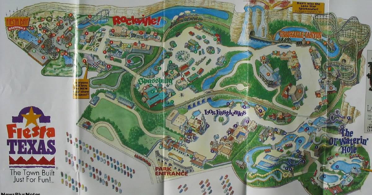 Six Flags Discovery Kingdom Map 2014 81627 | TRENDNET