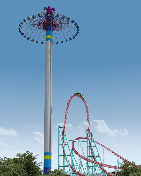 Newsplusnotes knott 39 s berry farm 2011 windseeker for Chaise volante
