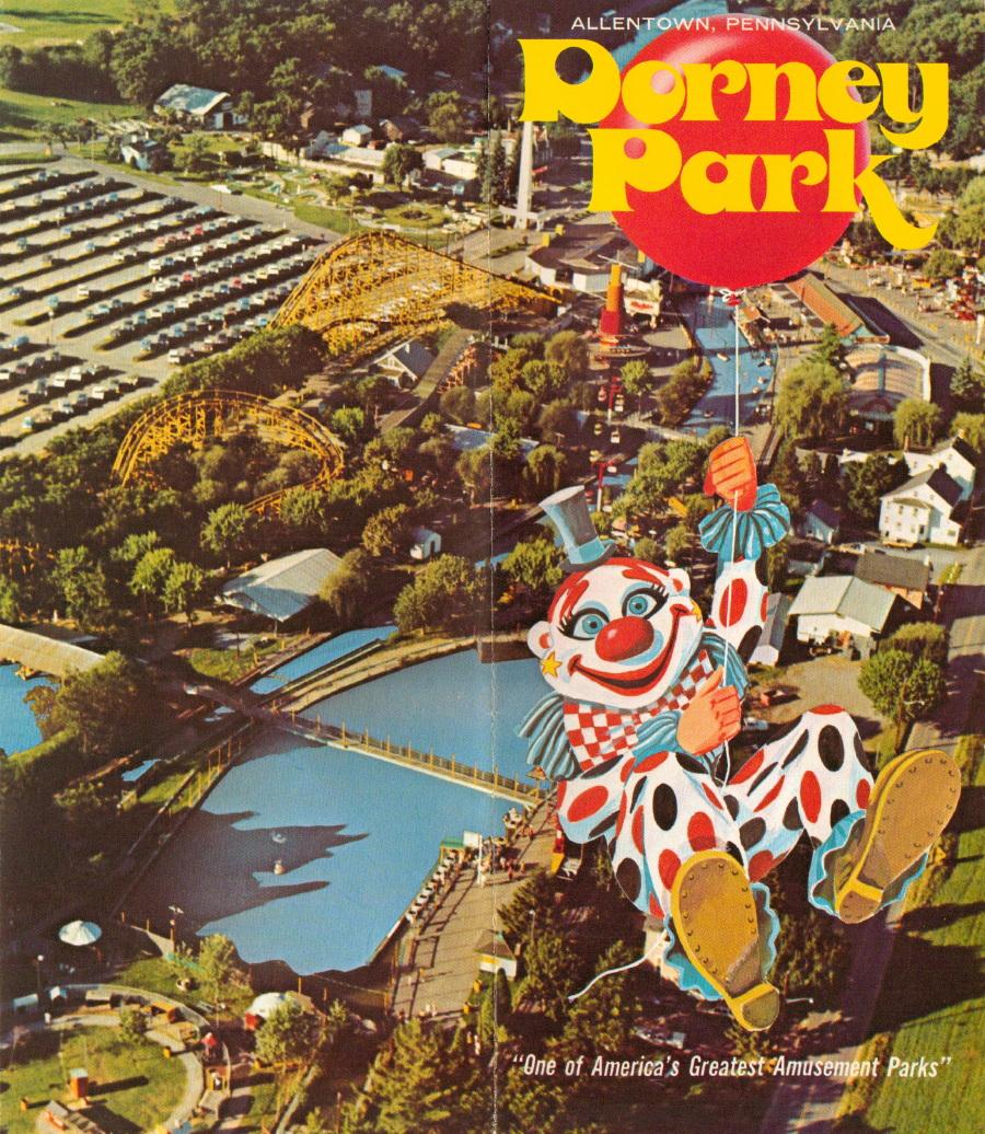 NewsPlusNotes: Mike\'s Fill-In Brochure Spotlight: Dorney Park 1977(ish)