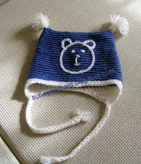детская шапка из мериносовой шерсти