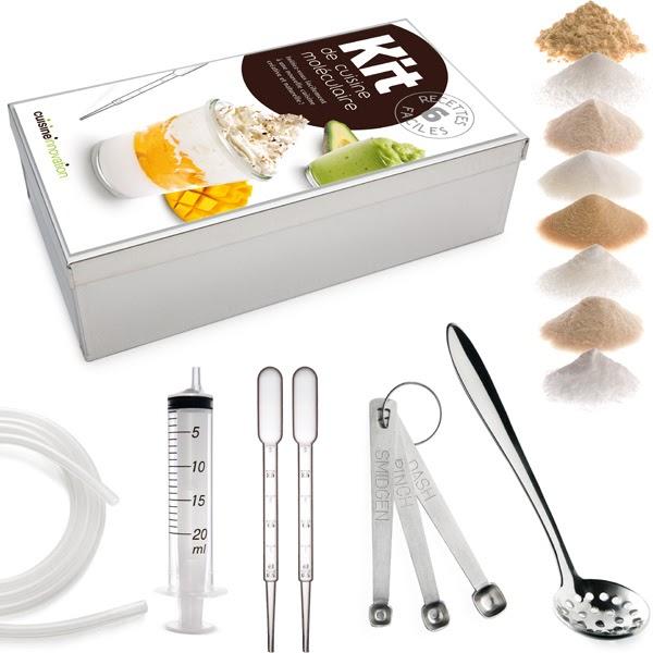Papille vagabonde gastronomia molecolare e cucina - Kit cucina molecolare ...