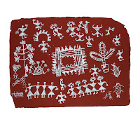 warli art tribal painting