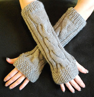 RainyDaye fingerless gloves