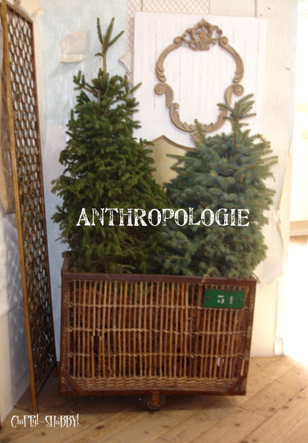 omg that cart is just to die 4 i just picked up a small industrial cart perfect holiday idea for it filled with trees - Christmas Tree Containers